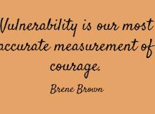vulnerability-courage